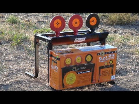 Do-All Outdoors Blast Back Steel Target Review (HD)