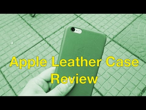 Apple Leather Case Review
