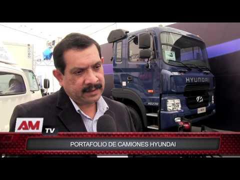 Portafolio de camiones Hyundai