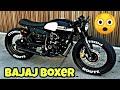 Modified Bajaj Boxer 150 Into CafeBrat Style By ZDR Custom Moto |मॉडिफाइड बजाज बॉक्सर 150cc