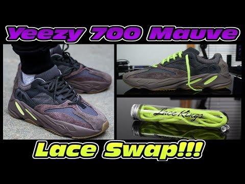 DOPE YEEZY 700 MAUVE LACE SWAP