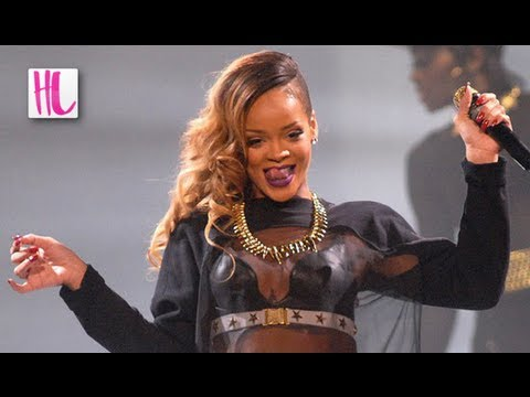 Rihanna Hits a Fan During Birmingham Concert