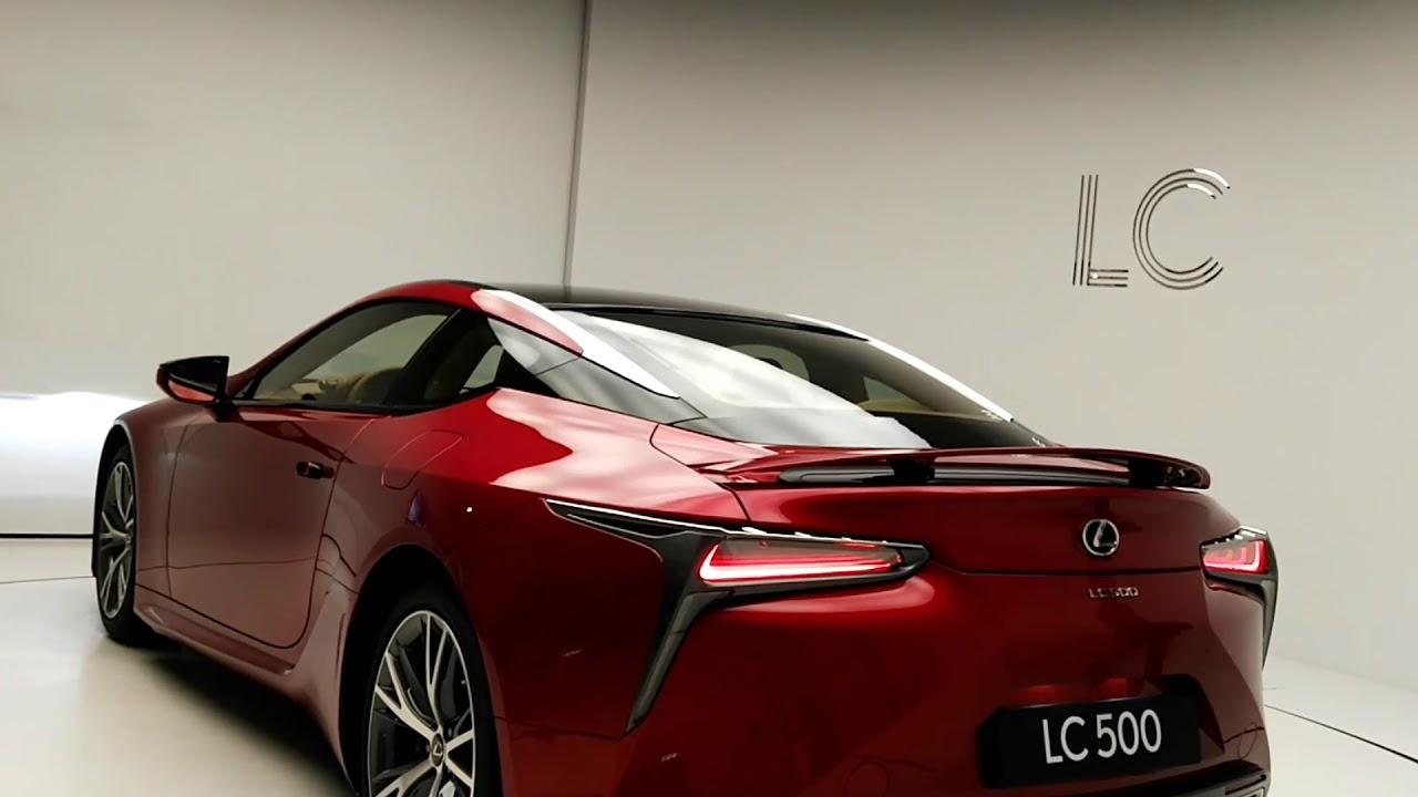 Обзор Lexus LC500. Посещение Lexus Dome в Москве. - YouTube