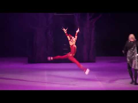 Прима-балерина Н. Огнева на сцене Большого Театра, партия «Жар-Птица»