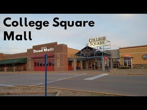 College Square Mall | A Cozy Dead Mall In The Middle Of Iowa