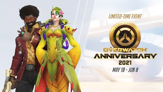 Overwatch Seasonal Event | Overwatch Anniversary 2021