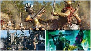 Цензоры обещают в Assassin's Creed Odyssey секс и насилие | Игровые новости