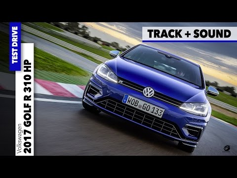 Volkswagen VW Golf R 310 HP 2018 | Sound Exhaust Test Track Car Drive Review [GOMMEBLOG]