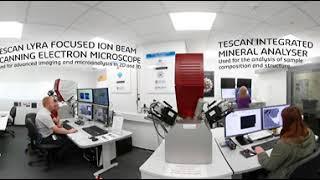 Curtin University's Digital Mineralogy Hub | 360° virtual experience