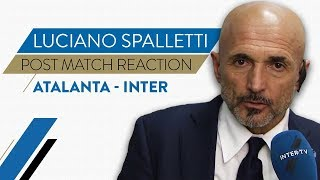 "ATALANTA 4-1 INTER | Luciano Spalletti Interview: ""We'll learn from today"""