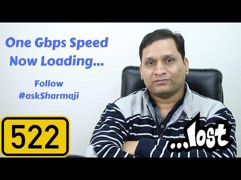 #522 MiA1 Oreo, 1Gbps, LG V30+, QC 4+, TweetStrom, Lenovo K9 Note, Airtel VoLTE, YouTube Rewind