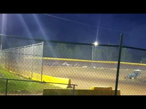 Mike Kalman Hamlin Speedway 270 Feature 5/27/17