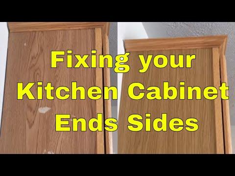 Kitchen Cabinet Wrap DIY 3M Di-noc and Belbien vinyl Rm wraps - Architectural finishes