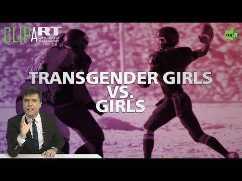 Transgender Girls Vs. Girls: Clipart With Boris Malagurski