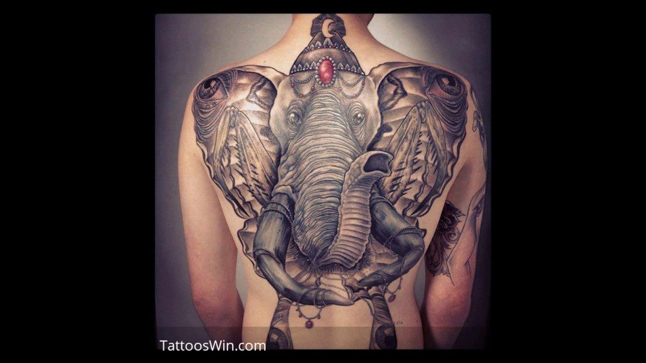 Elephant Tattoo Designs And Meanings Youtube