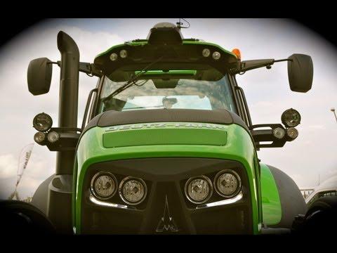 Detailed Walkaround: NEW Deutz Fahr Agrotron 5120P / 6190 TTV / 7250 TTV - Roadshow 2013