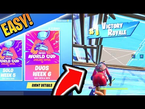 How to WIN WORLD CUP EASILY! Fortnite Arena/Competitive Fortnite Tips! (How to Win in Fortnite)