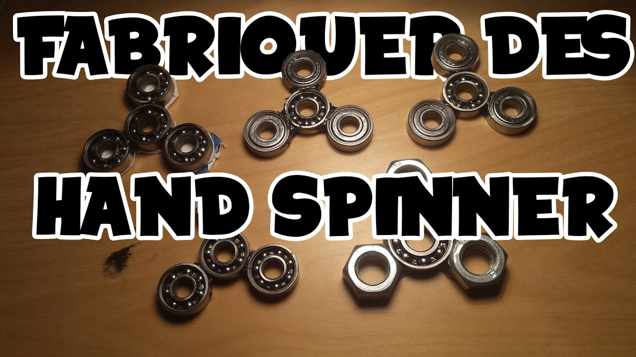 COMMENT FABRIQUER UN HAND SPINNER  YouTube