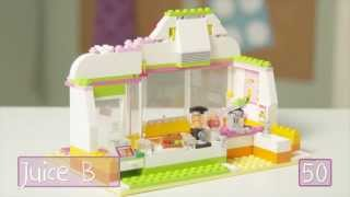 Lego® Building With Friends - Heartlake Juice Bar Quick Build