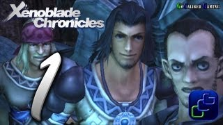 Xenoblade Chronicles Walkthrough - Gameplay Part 1 - Prologue