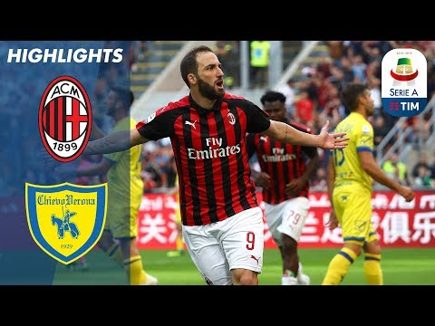 Milan 3-1 Chievo | Higuain Double Sees Rossoneri Past Chievo | Serie A