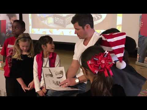 Nick Lachey visits Emelita Academy Charter school to read to kids | ABC7
