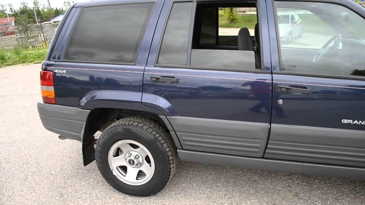 jeep grand cherokee 2 5 td laredo youtube. Black Bedroom Furniture Sets. Home Design Ideas