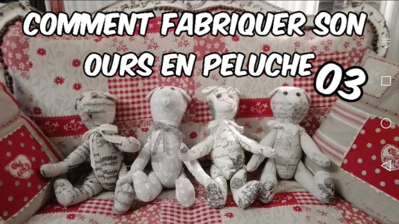 Comment faire des ours en peluche Secrets de production