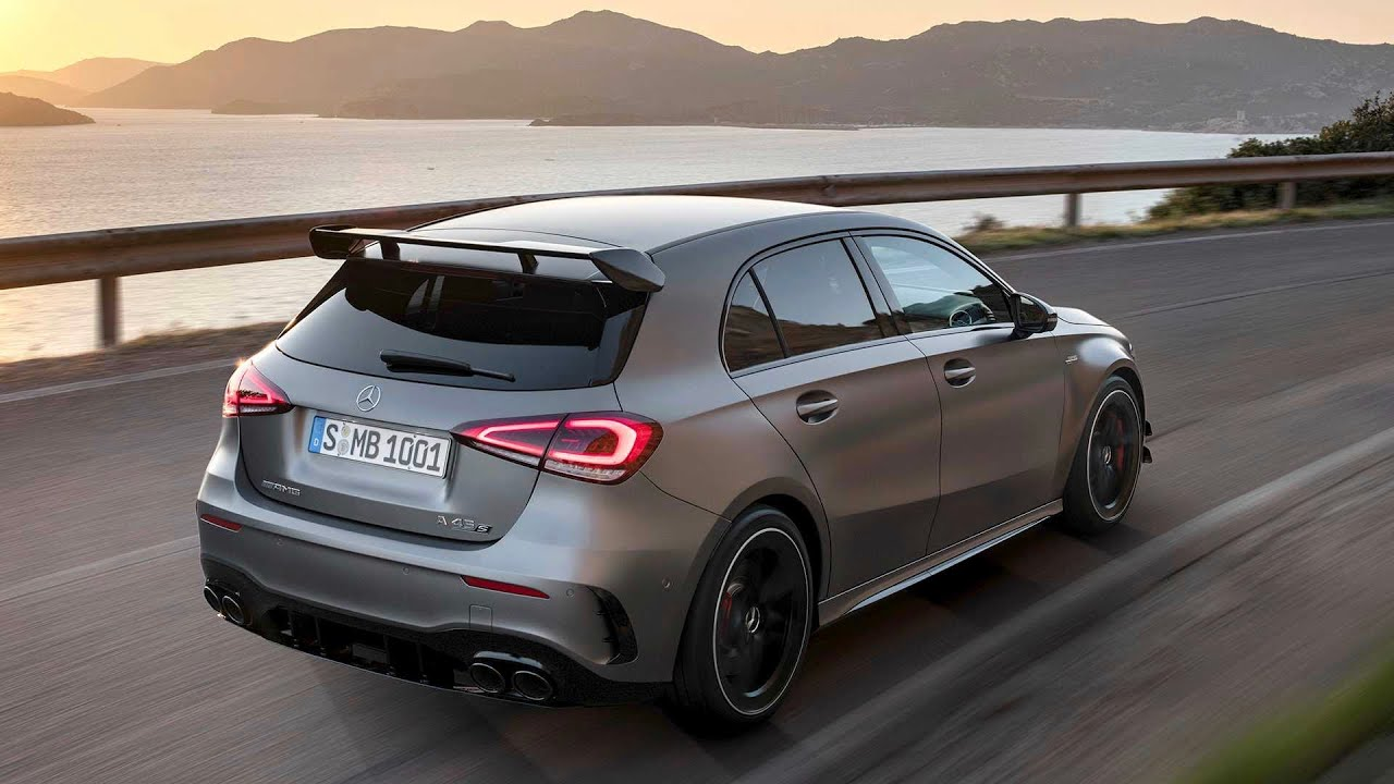 mercedes a45 amg 2020 exhaust sound exterior interior 421 hp with drift mode youtube. Black Bedroom Furniture Sets. Home Design Ideas