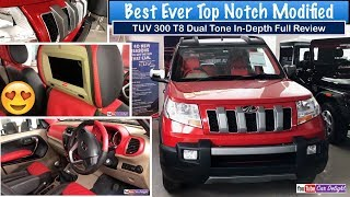 Mahindra TUV 300 T8 Review Best Ever Interior and Exterior Modified Model