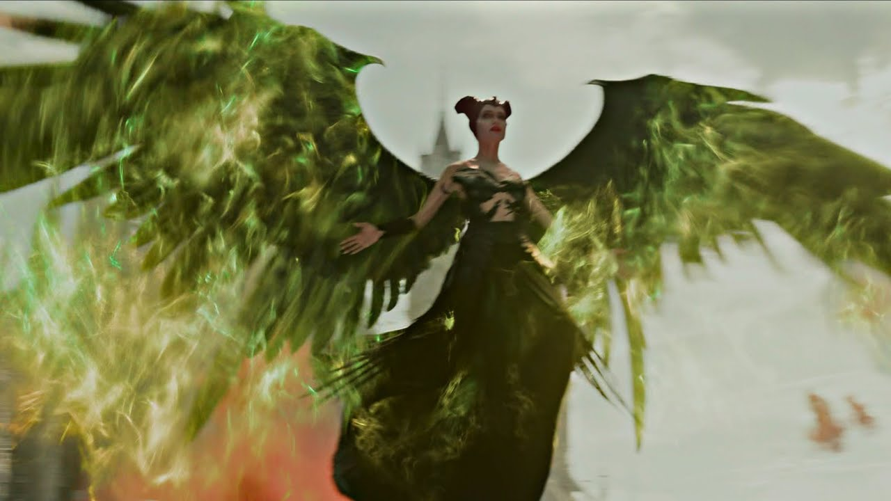 Download Maleficent: Mistress Of Evil - Scene 4K - Maleficent Enters The Battle Against The Queen.