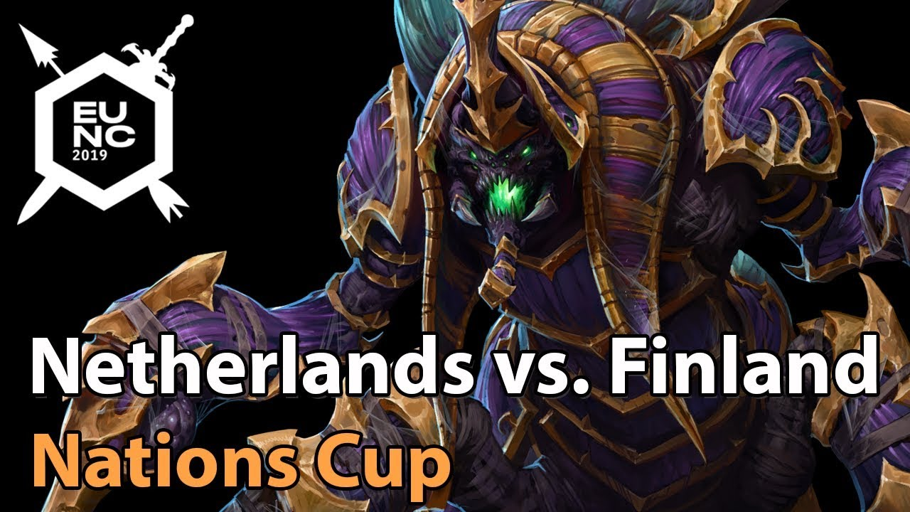► Netherlands vs. Finland - Nations Cup - Heroes of the Storm Esports