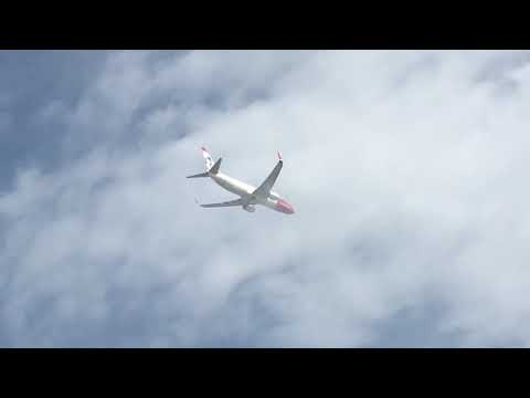 Norwegian Fly 737-800 Takeing Off At Malaga To Oslo