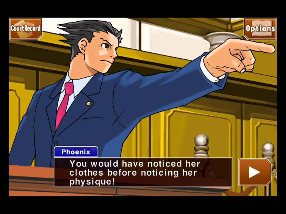 Phoenix Wright Ace Attorney Walkthrough: Turnabout Sisters Part 2