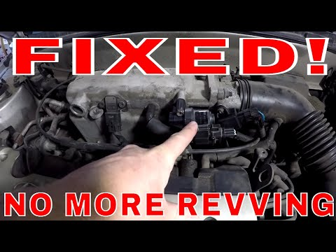 Engine Revving Up and Down at Idle FIXED
