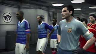 Pro Evolution Soccer 2010 Demo Gamplay - Spain Vs France [HD Quality]