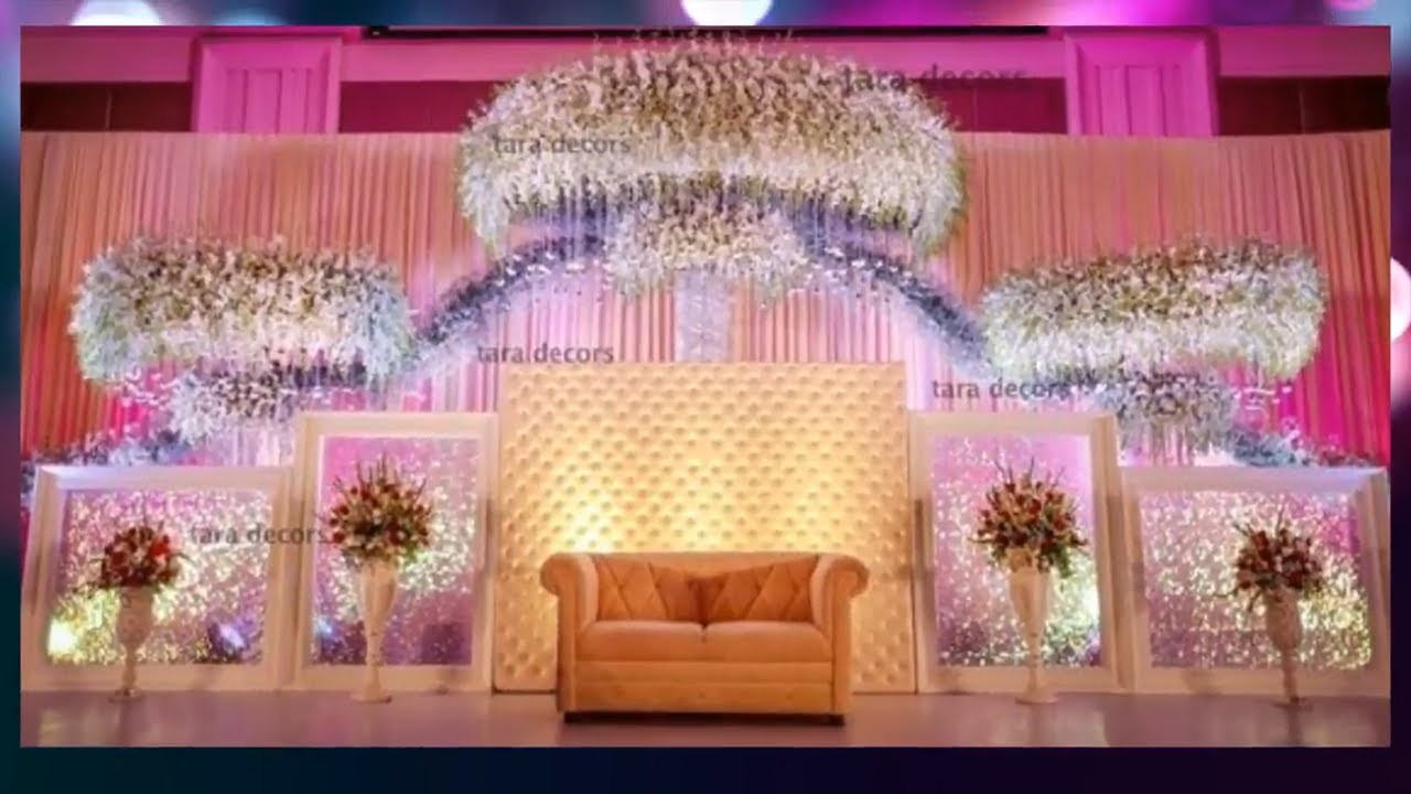 Awesome Wedding Stage Decoration Ideas photos/ images 2018 ...