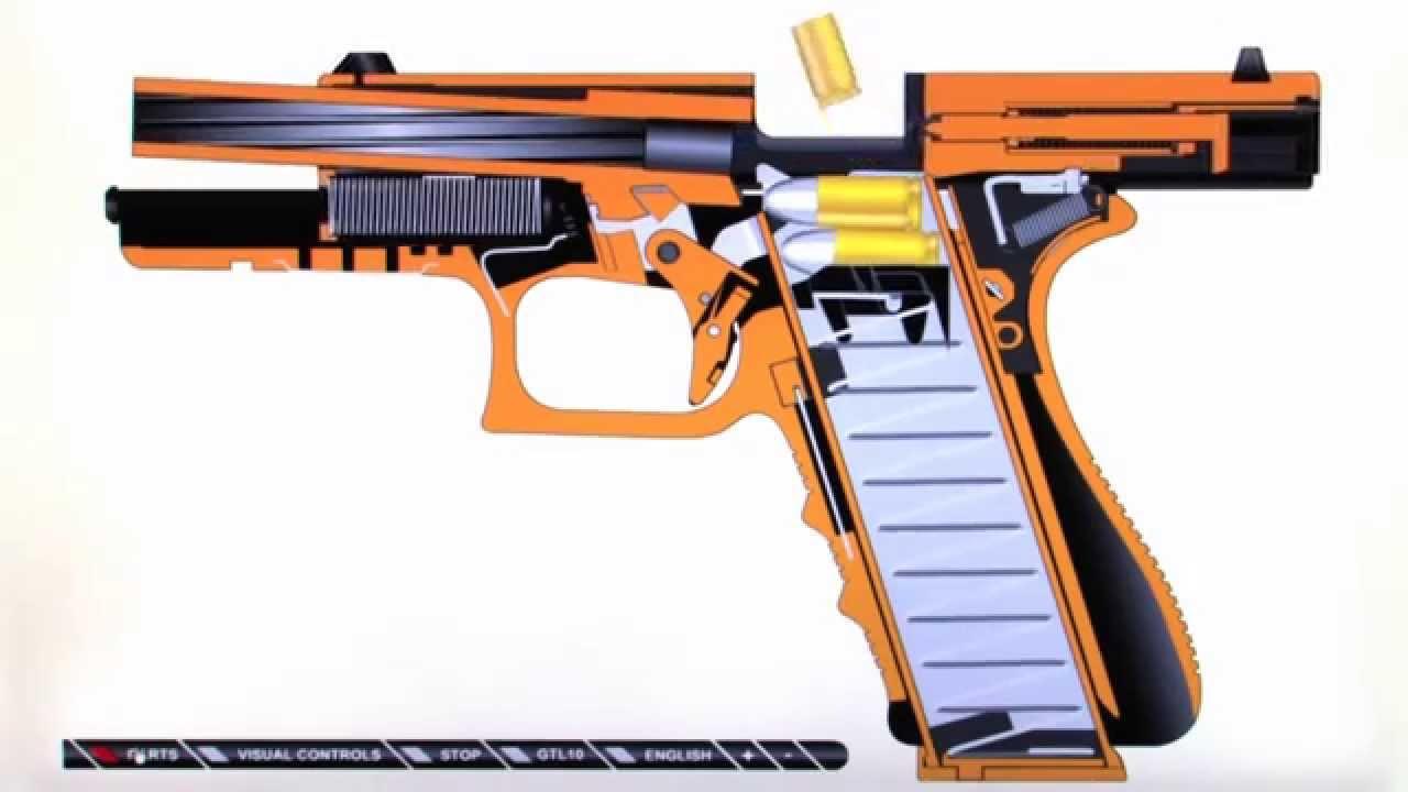 40 glock schematic diagram [ 1280 x 720 Pixel ]