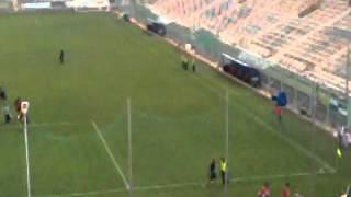 Taranto Pro Vercelli - Arrivo della squadra