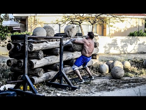 A Strongman Easter: Yoke, Stones, Log and...