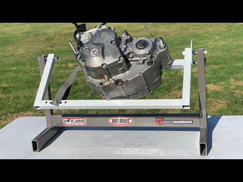 How To Make a Dirt Bike Engine Stand At Home!