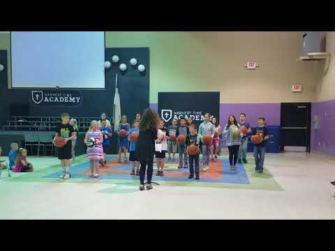 Harvest Time Academy performs an awesome Music and Movement tribute for the last day of school!