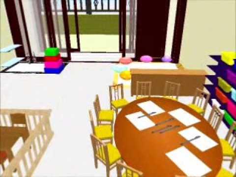 Sweet home 3d resultado de escuela infantil virtual for Plano escuela infantil