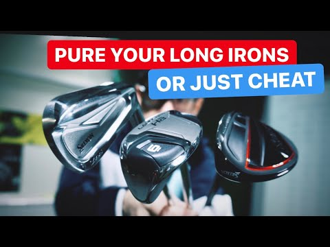 HOW TO PURE LONG IRONS GOLF BAG CHEATS