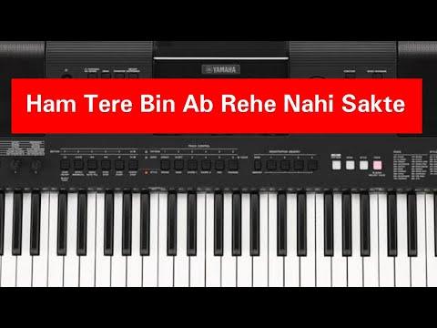 Ham Tere Bin Ab Rehe Nahi Sakte Piano Tutorial In Slow Motion.