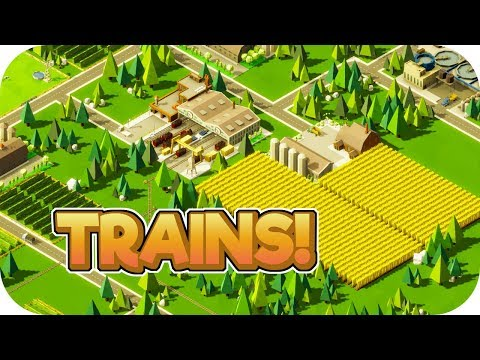 Trains! – Rise of Industry Gameplay – Let's Play Part 2