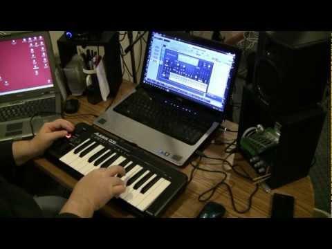 Alesis Q25 USB MIDI Keyboard Unboxing & Review