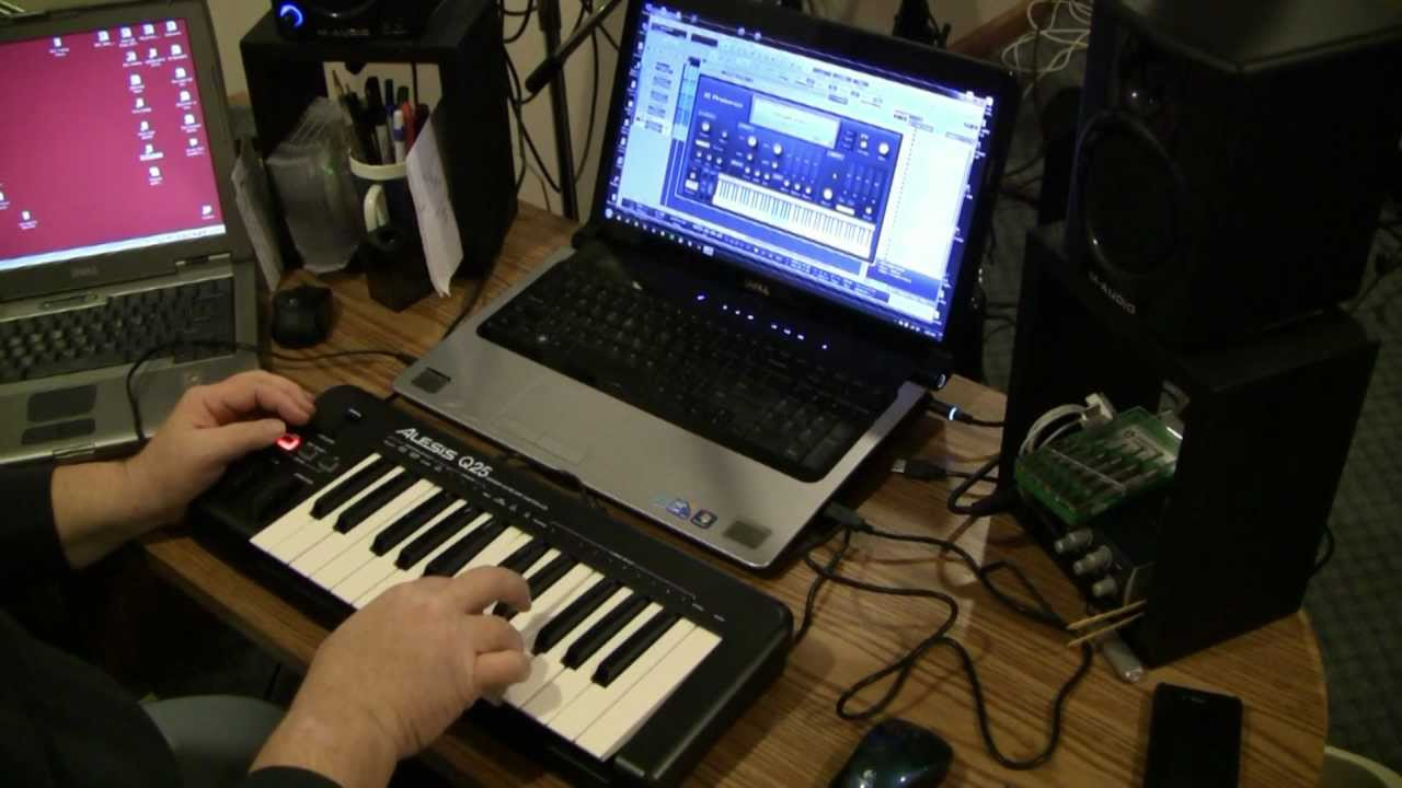 alesis q25 usb midi keyboard unboxing review youtube. Black Bedroom Furniture Sets. Home Design Ideas