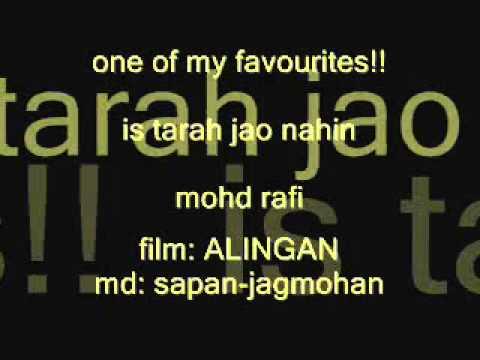 is-tarah-jao-nahin-mohd-rafi-alingan