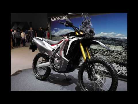 2017 Tokyo Motor Show 2018 Model Honda Crf 250 Rally Youtube